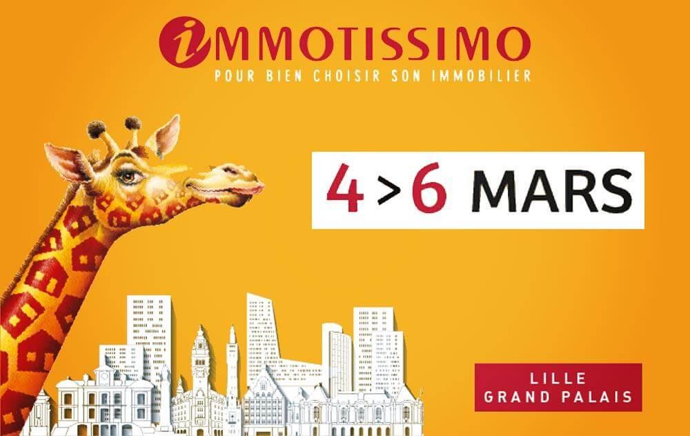 Salon Immotissimo à Lille du 04/03/2016 au 06/03/2016
