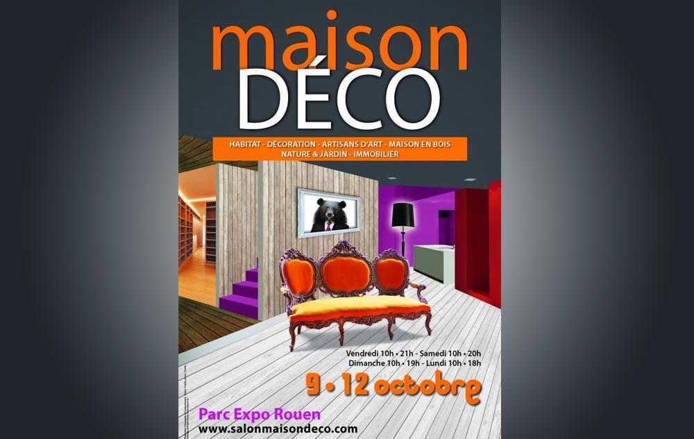 Salon Maison Deco à Rouen du 07/10/2016 au 10/10/2016