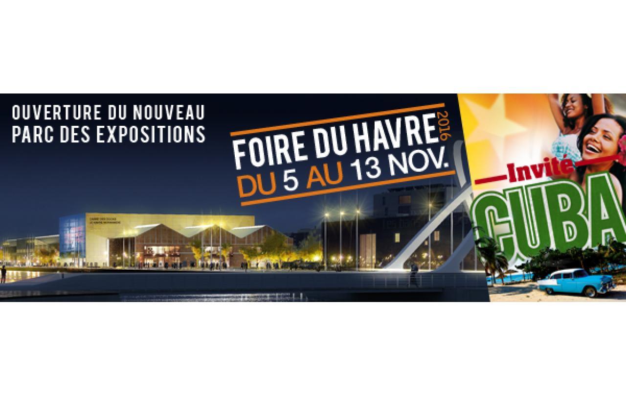 Foire à Le Havre (76600) du 05/11/2016 au 13/11/2016