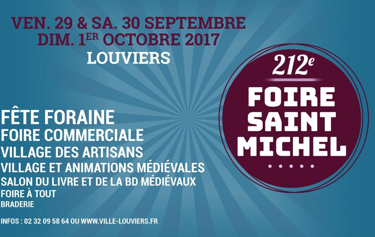 Foire à Louviers du 29/09/2017 au 01/10/2017