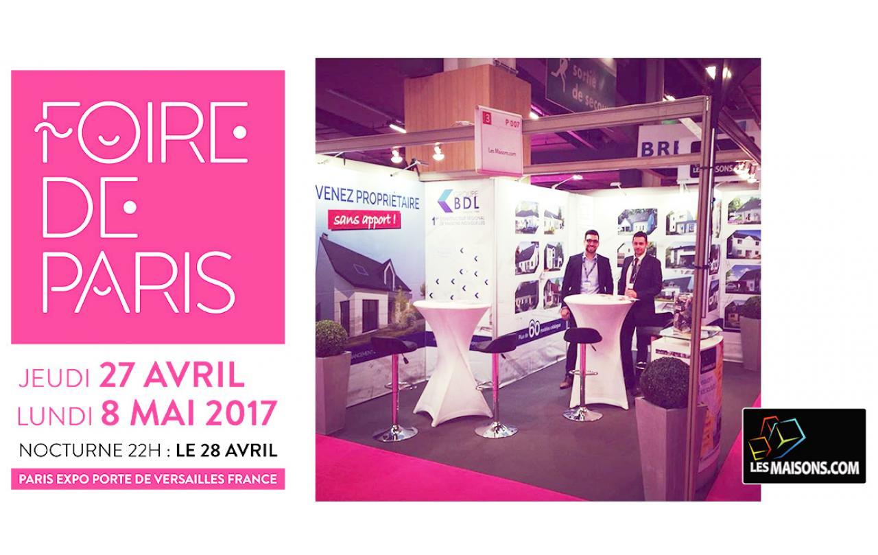 Foire à Paris du 27/04/2017 au 08/05/2017