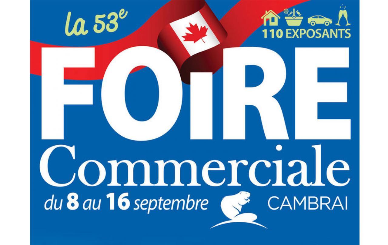 Foire Commerciale à Cambrai (59400) du 08/09/2018 au 16/09/2018