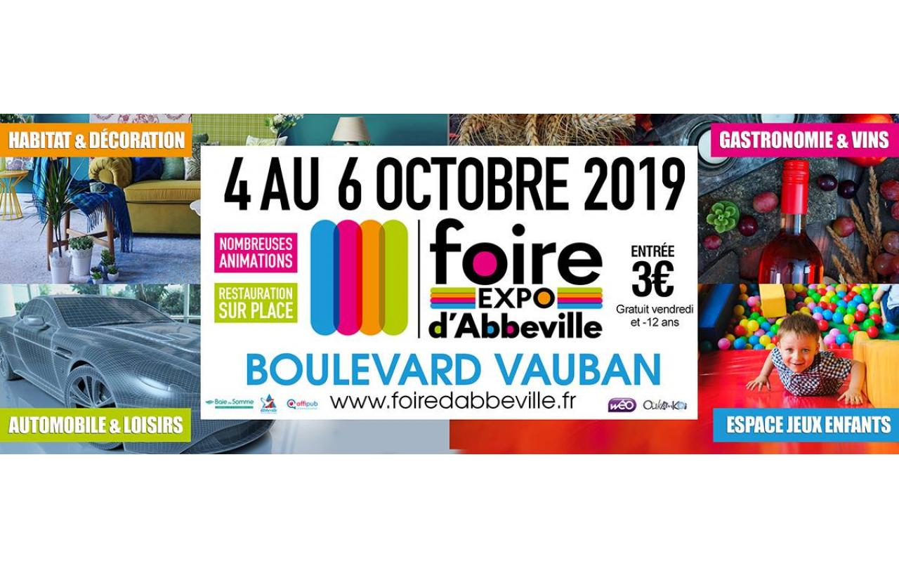 Foire Exposition à Abbeville (80100) du 04/10/2019 au 06/10/2019