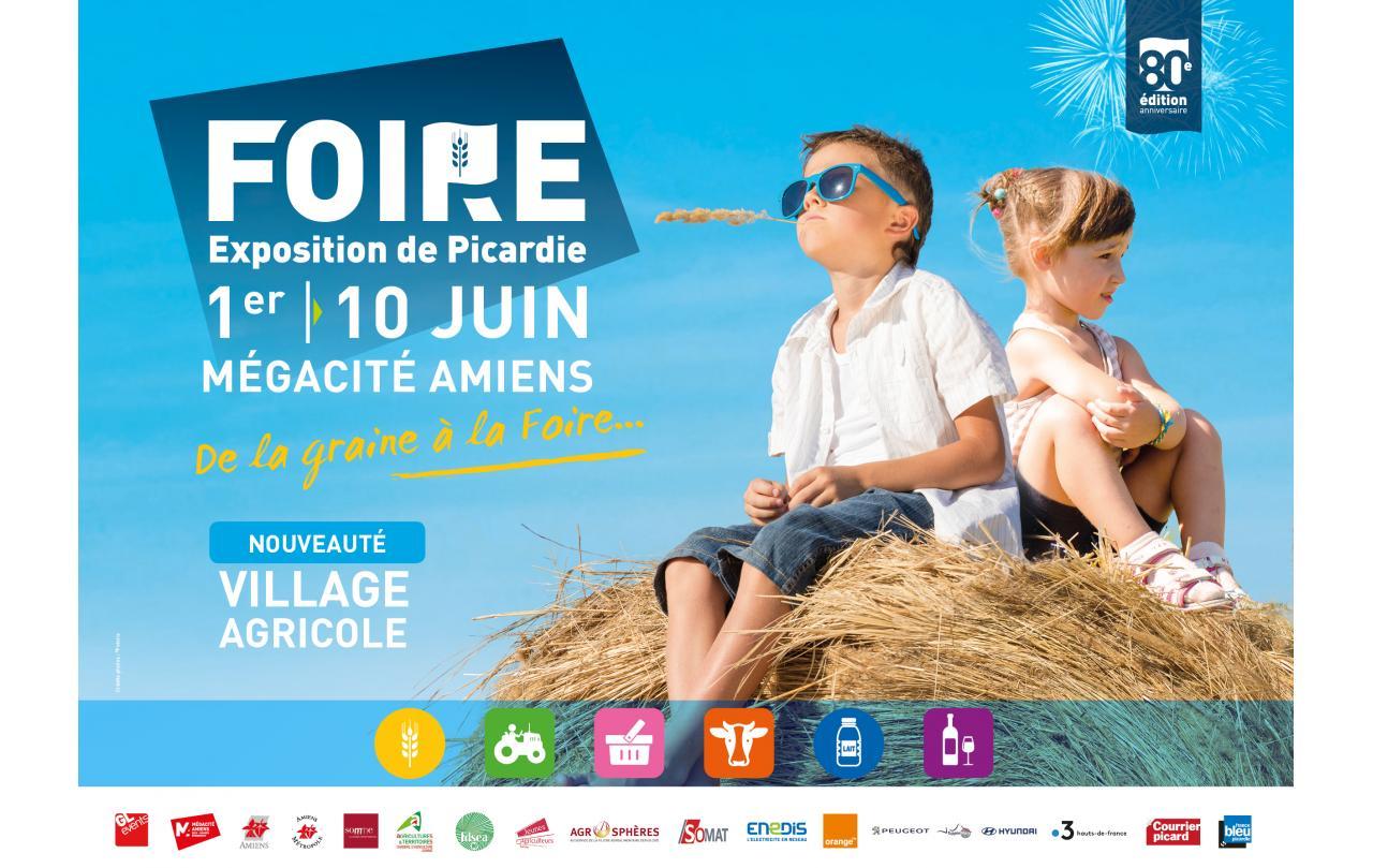 Foire Exposition à Amiens (80000) du 01/06/2019 au 10/06/2019