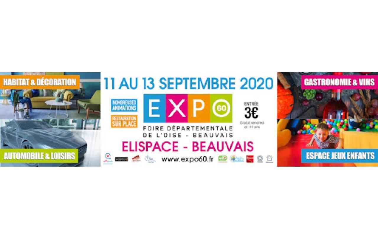 Foire Exposition à Beauvais (60000) du 11/09/2020 au 13/09/2020