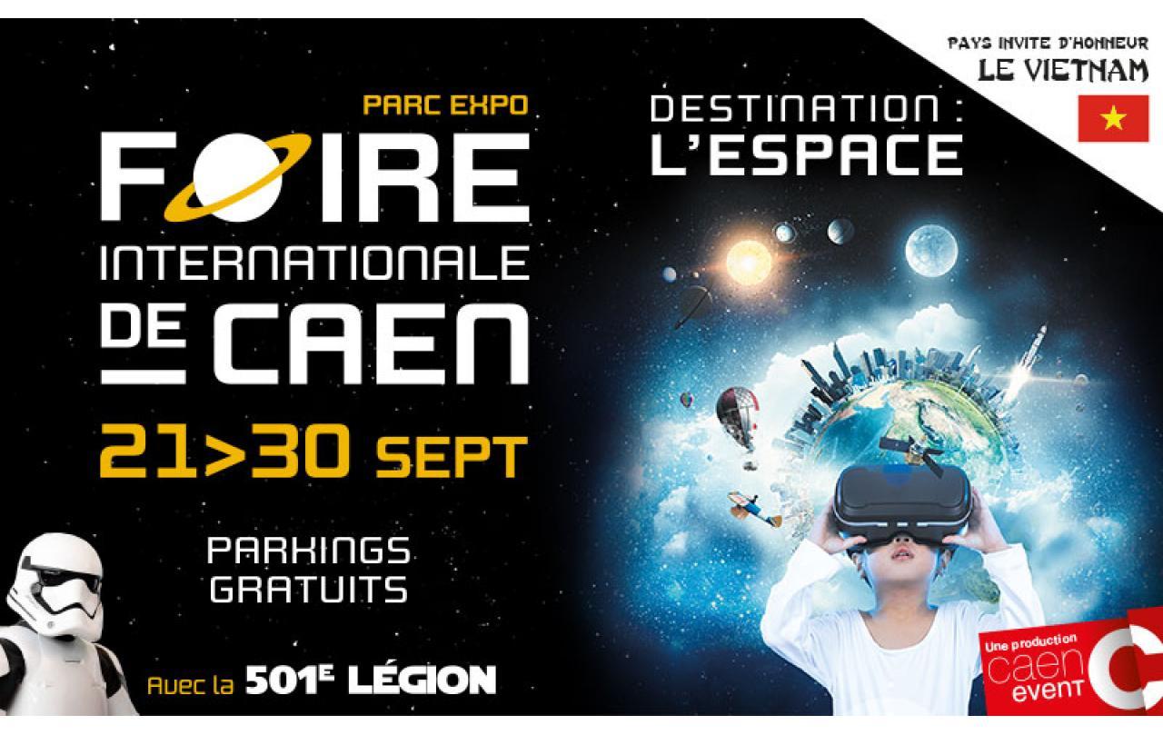 Foire Exposition à Caen (14000) du 21/09/2018 au 30/09/2018