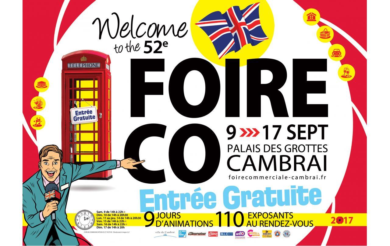 Foire Exposition à Cambrai (59400) du 09/09/2017 au 17/09/2017