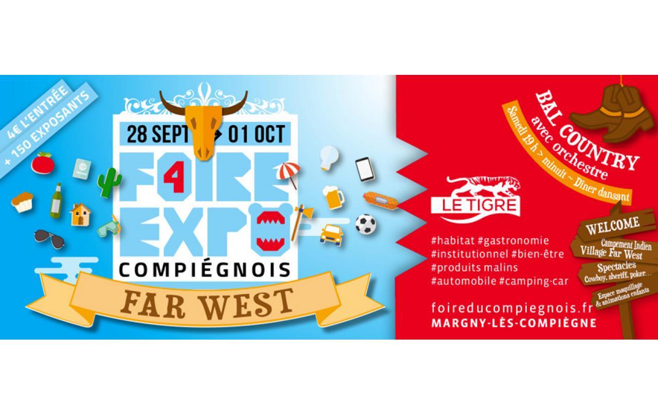 Foire Exposition à Compiegne (60200) du 28/09/2018 au 01/10/2018