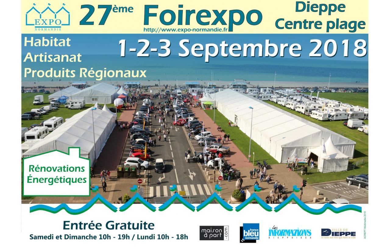 Foire Exposition à Dieppe du 01/09/2018 au 03/09/2018