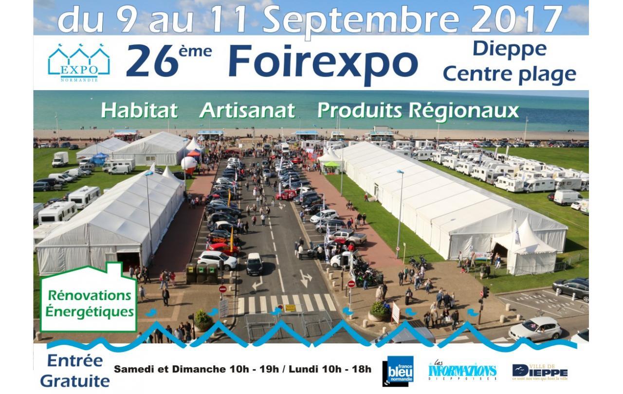 Foire Exposition à Dieppe du 09/09/2017 au 11/09/2017