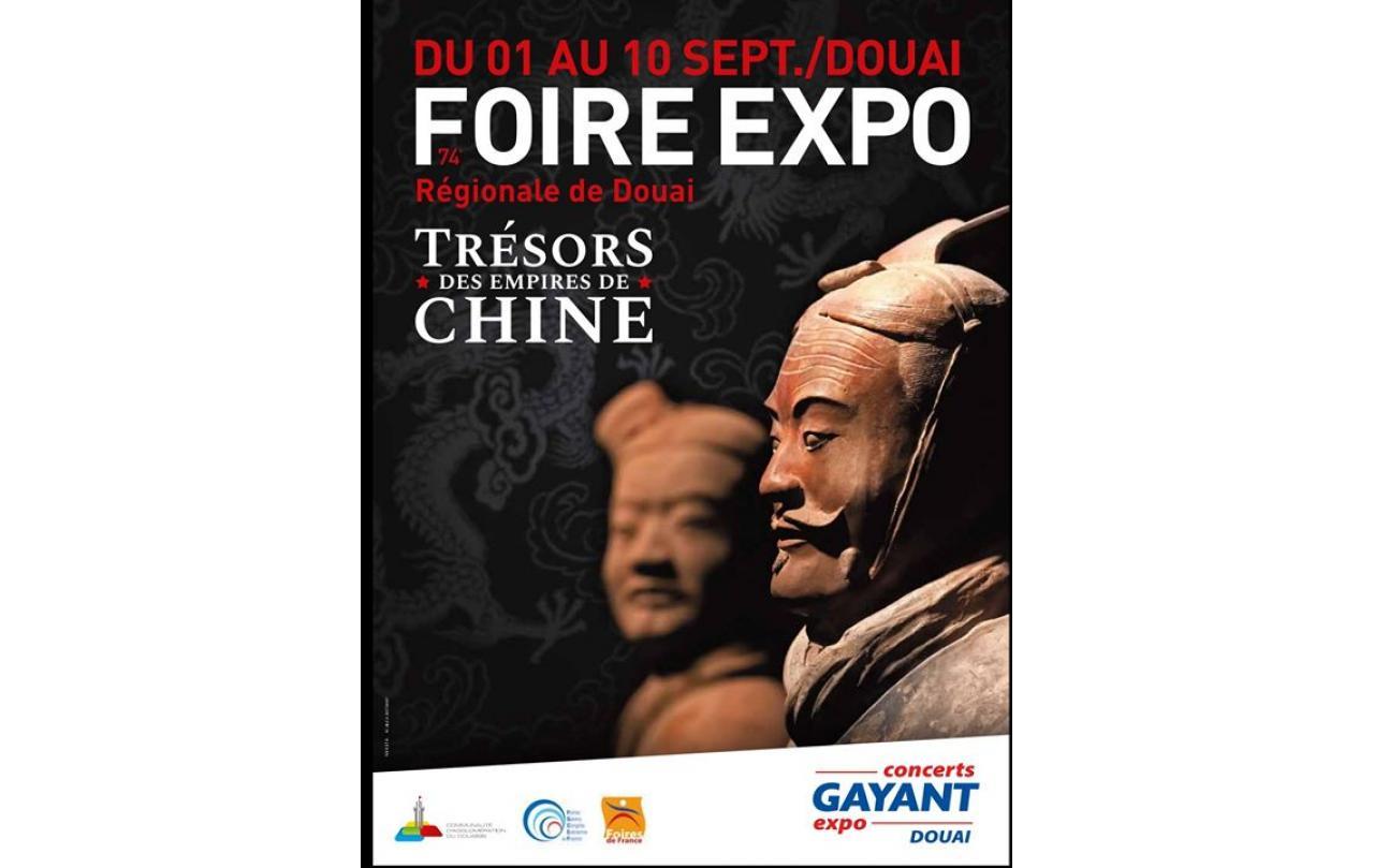 Foire Exposition à Douai du 01/09/2018 au 10/09/2018