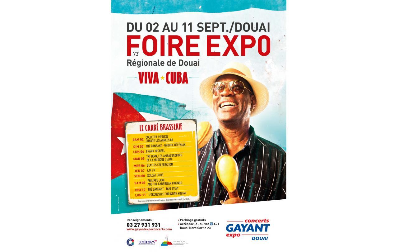 Foire Exposition à Douai (59500) du 02/09/2017 au 11/09/2017