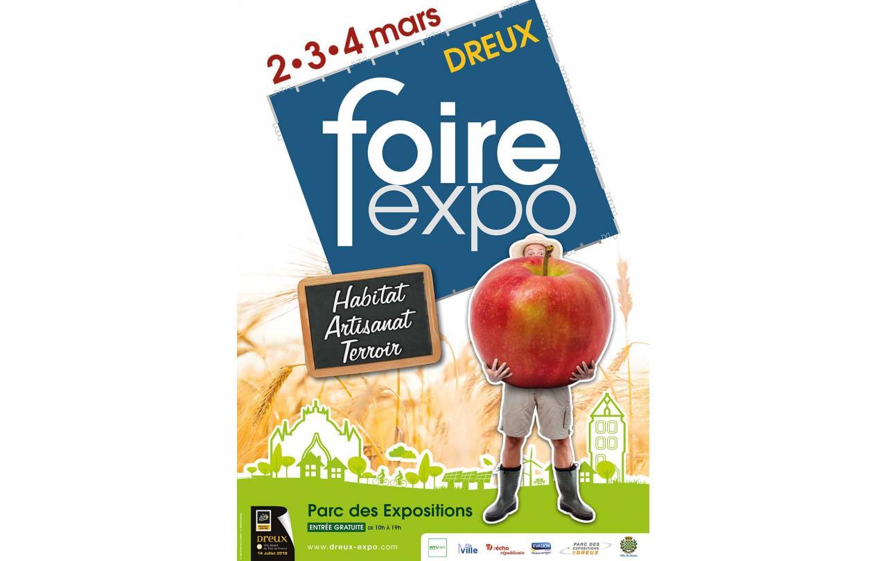 Foire Exposition à Dreux (28100) du 02/03/2018 au 04/03/2018