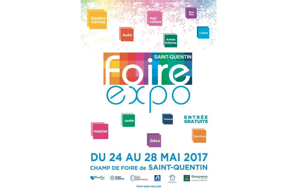 Foire Exposition à Saint-quentin (02100) du 24/05/2017 au 28/05/2017
