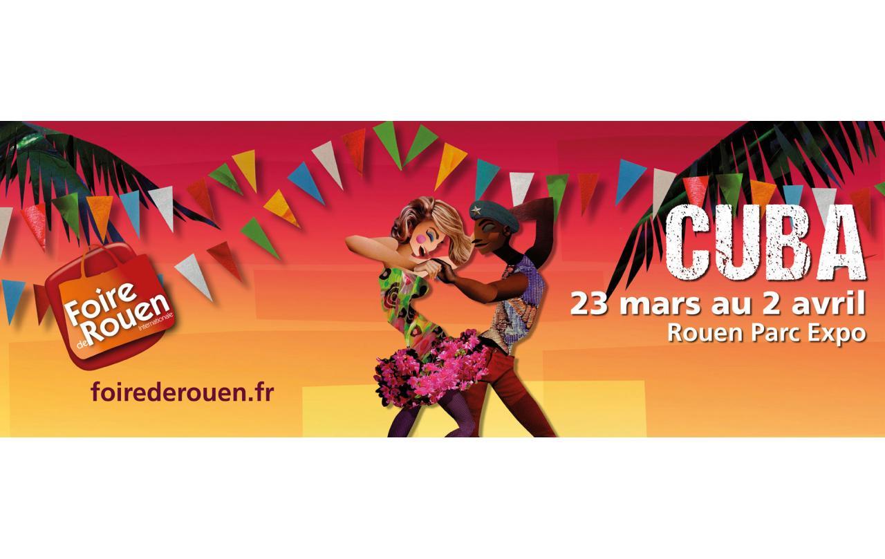 Foire Internationale à Rouen (76000) du 23/03/2018 au 02/04/2018