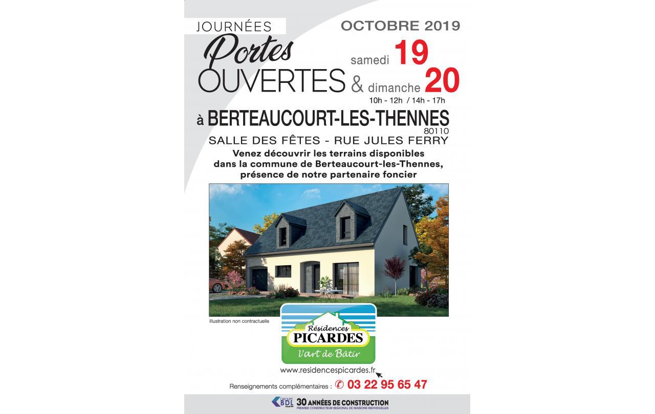 Portes Ouvertes à Berteaucourt-les-thennes (80110) les 19/10/2019 et 20/10/2019