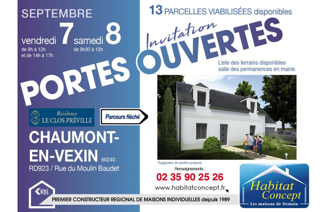 Portes Ouvertes à Chaumont-en-vexin les 07/09/2018 et 08/09/2018
