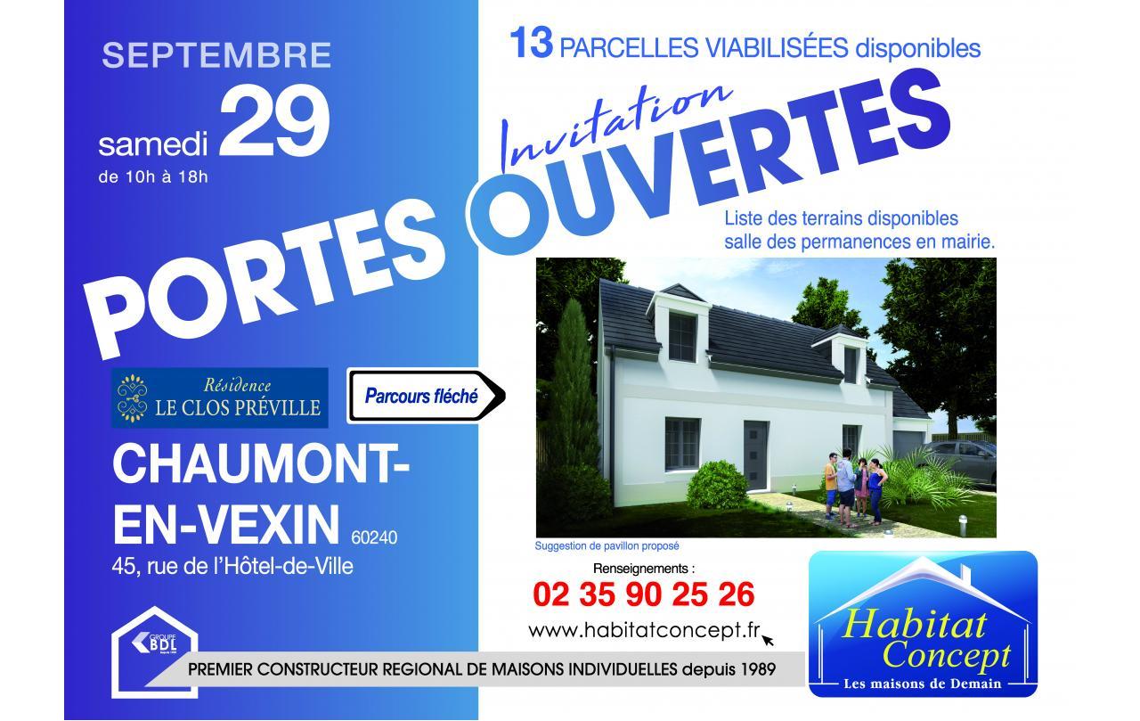 Portes Ouvertes à Chaumont-en-vexin (60240) le 29/09/2018