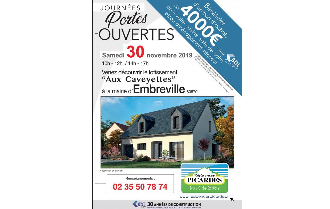 Portes Ouvertes à Embreville (80570) le 30/11/2019
