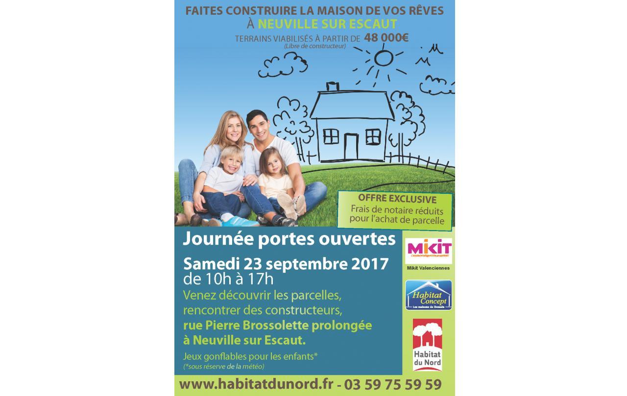 Portes Ouvertes à Neuville-sur-escaut (59293) le 23/09/2017