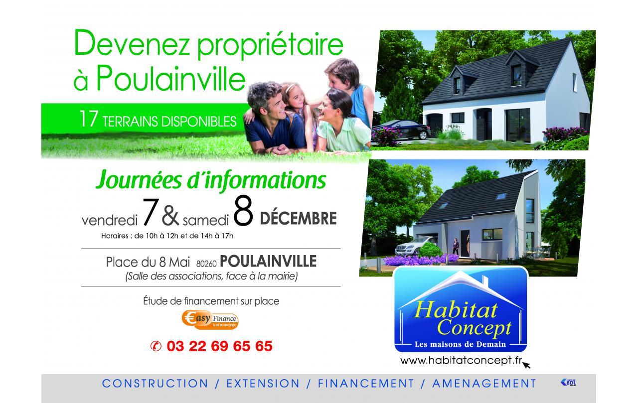 Portes Ouvertes à Poulainville les 07/12/2018 et 08/12/2018