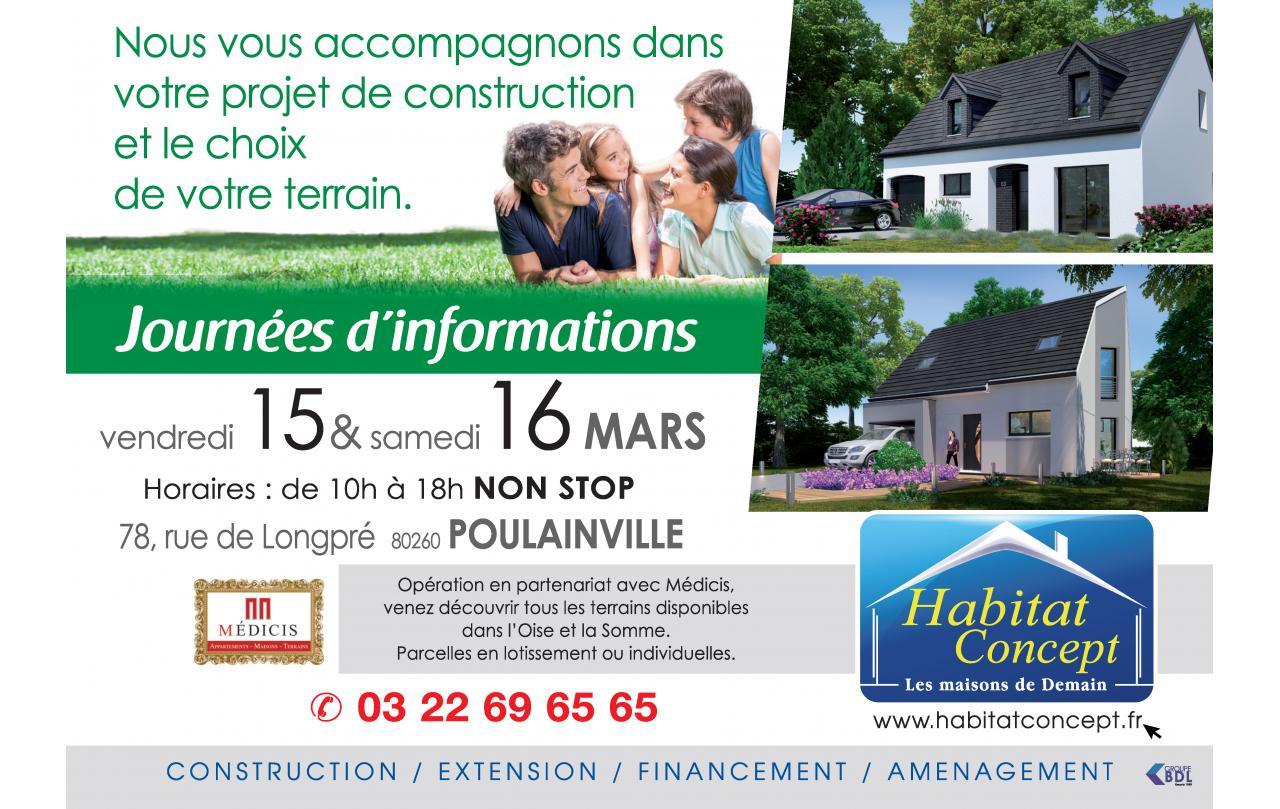 Portes Ouvertes à Poulainville (80260) les 15/03/2019 et 16/03/2019