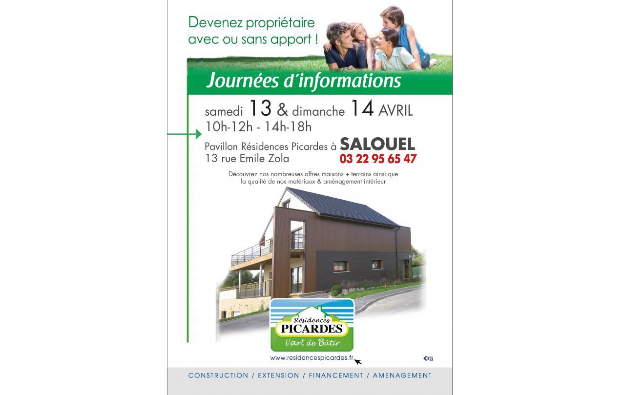 Portes Ouvertes à Salouel (80480) les 13/04/2019 et 14/04/2019