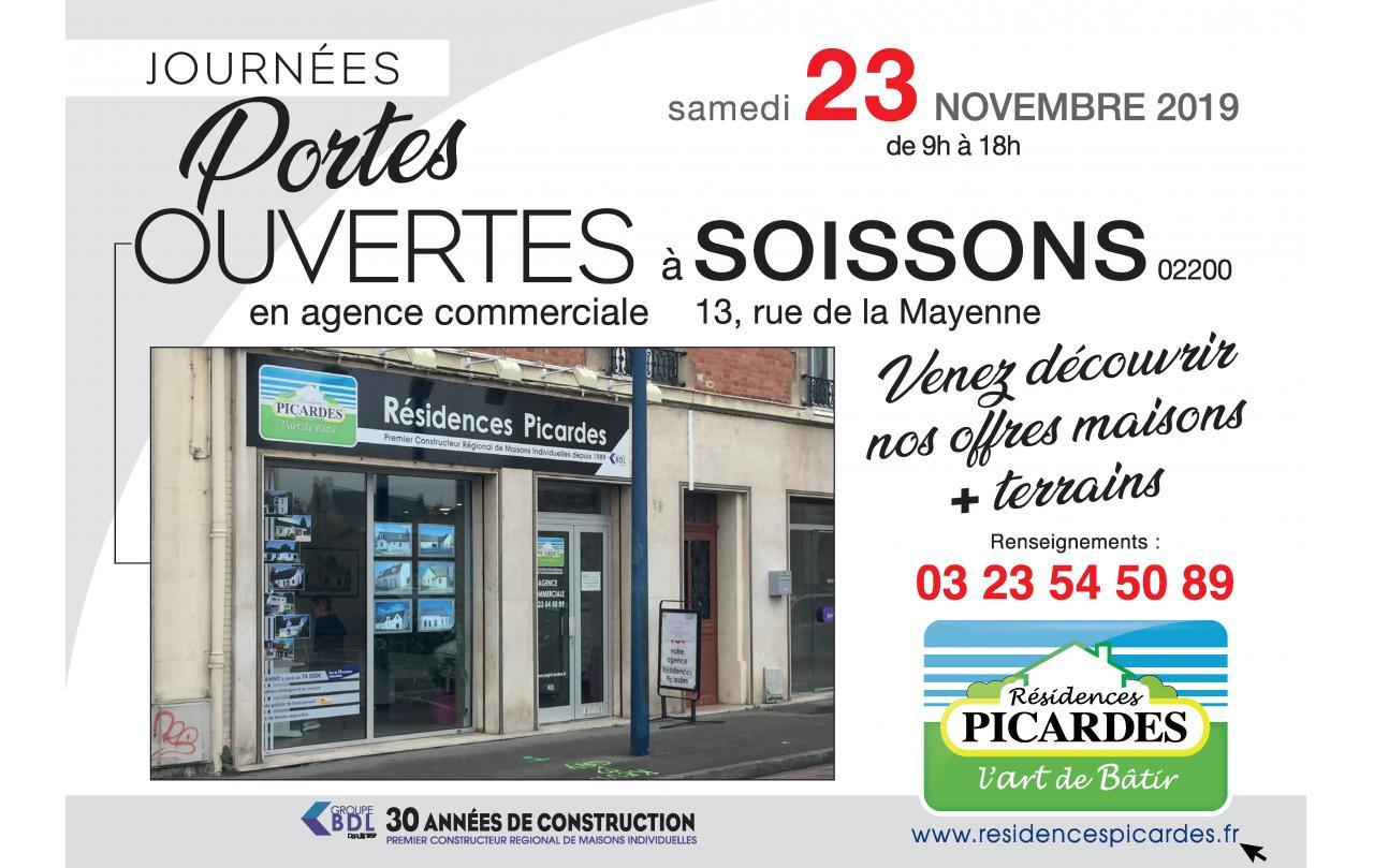 Portes Ouvertes à Soissons (02200) le 23/11/2019