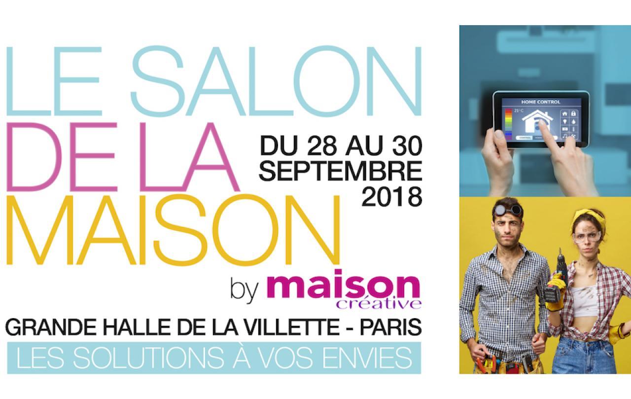 Salon De La Maison à Paris (75000) du 28/09/2018 au 30/09/2018