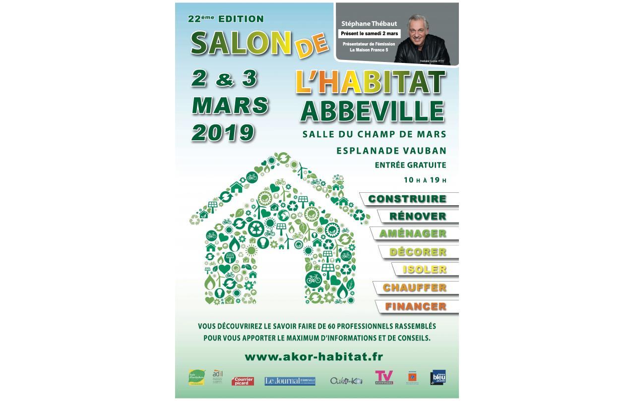 Salon De L'habitat à Abbeville (80100) les 02/03/2019 et 03/03/2019