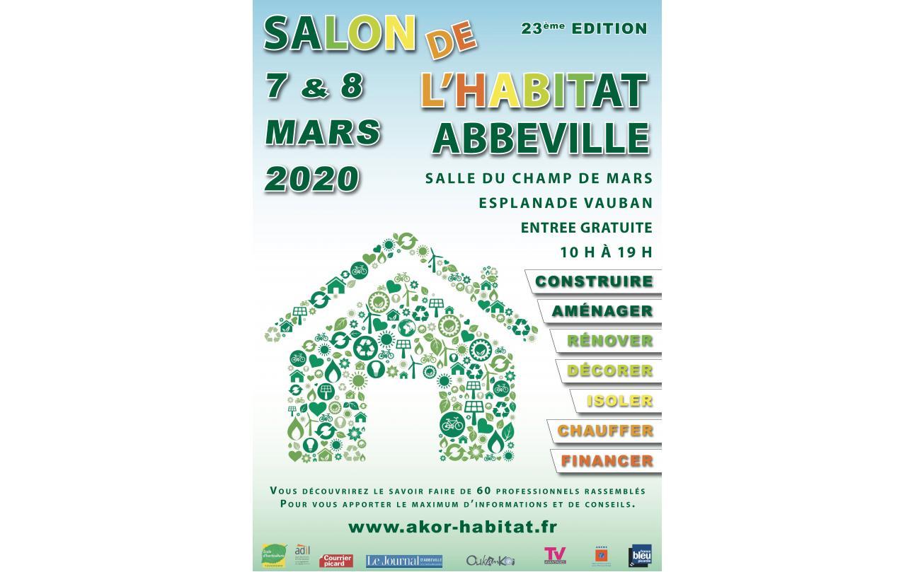 Salon De L'habitat à Abbeville (80100) les 07/03/2020 et 08/03/2020