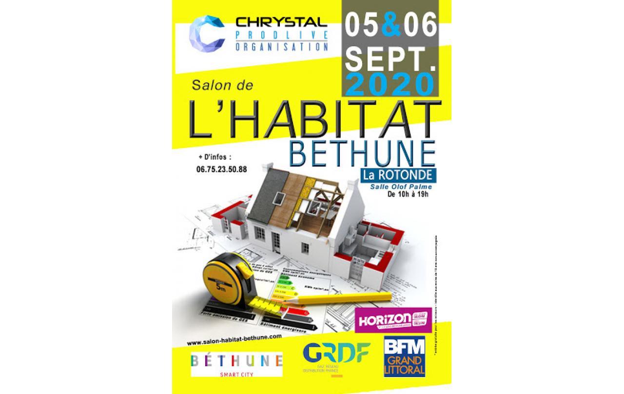 Salon De L'habitat à Bethune (62400) les 05/09/2020 et 06/09/2020