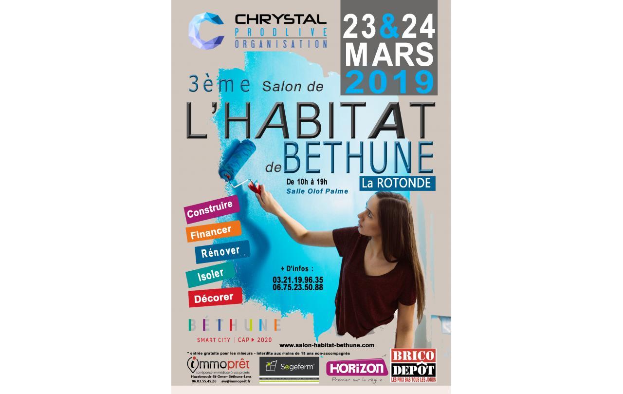 Salon De L'habitat à Bethune (62400) les 23/03/2019 et 24/03/2019