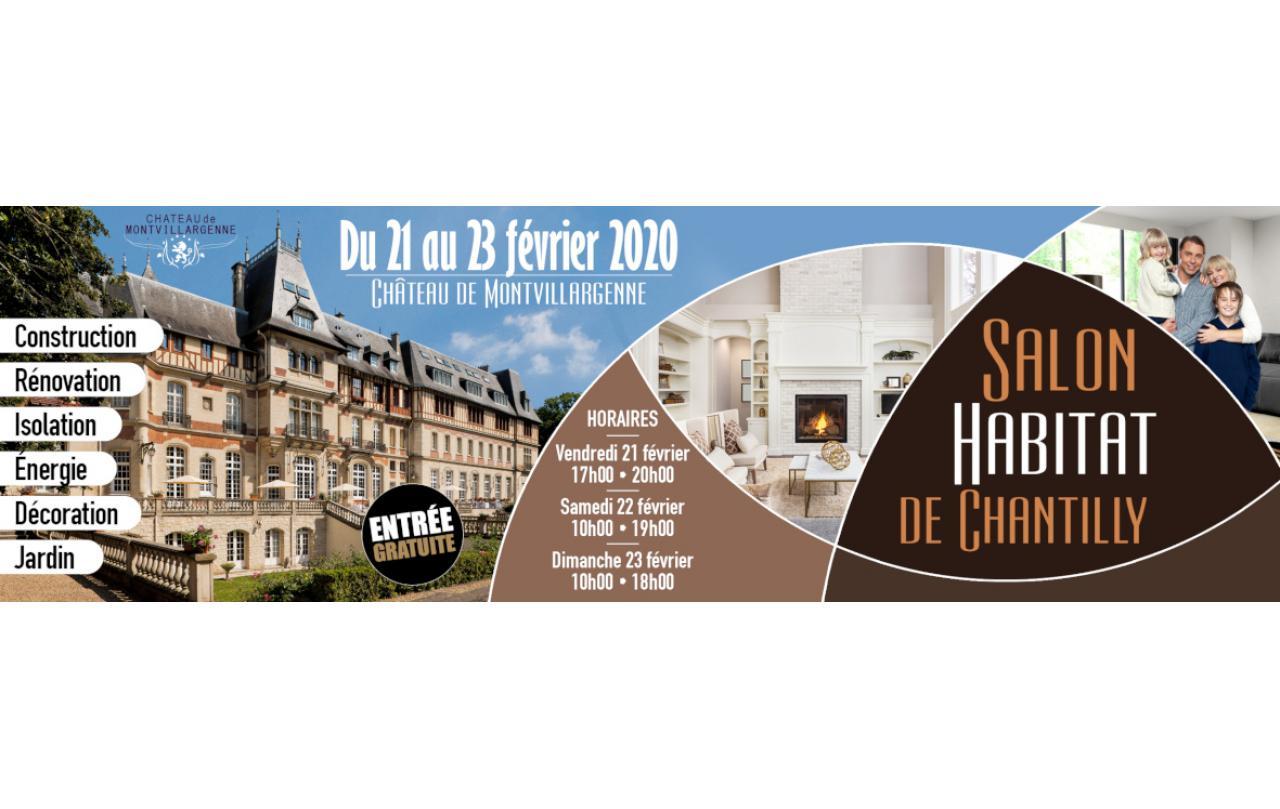 Salon De L'habitat à Chantilly (60500) du 21/02/2020 au 23/02/2020