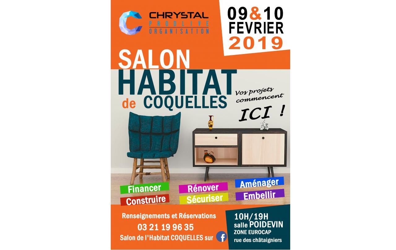 Salon De L'habitat à Coquelles les 09/02/2019 et 10/02/2019