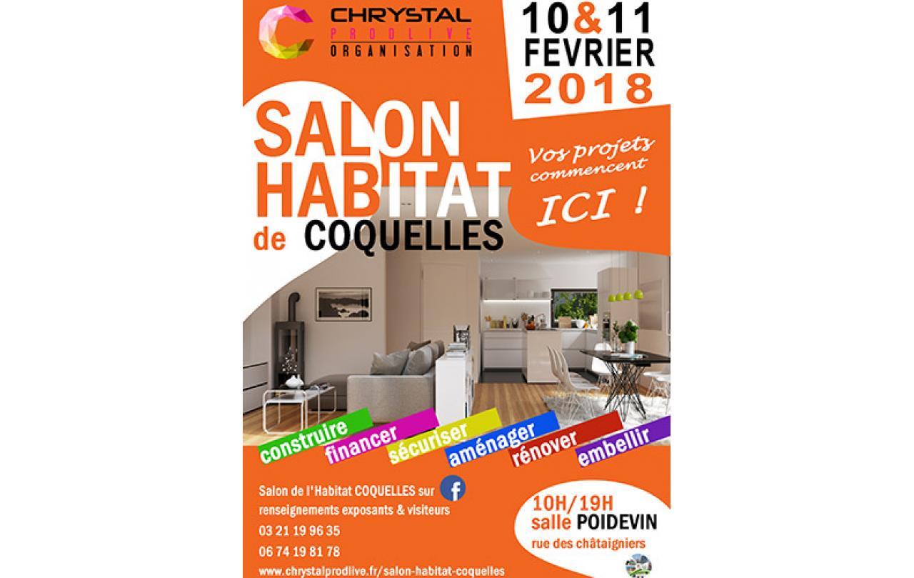 Salon De L'habitat à Coquelles (62231) les 10/02/2018 et 11/02/2018