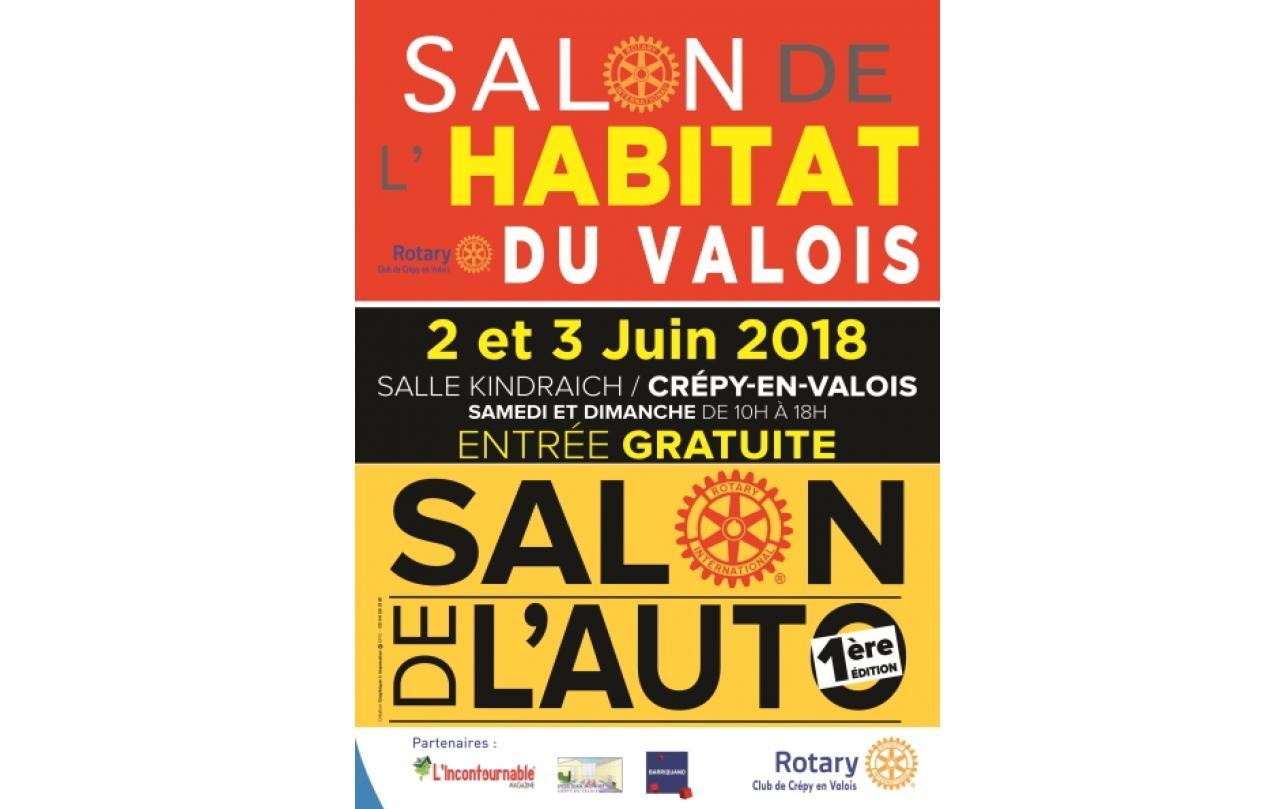 Salon De L'habitat à Crepy-en-valois (60800) les 02/06/2018 et 03/06/2018