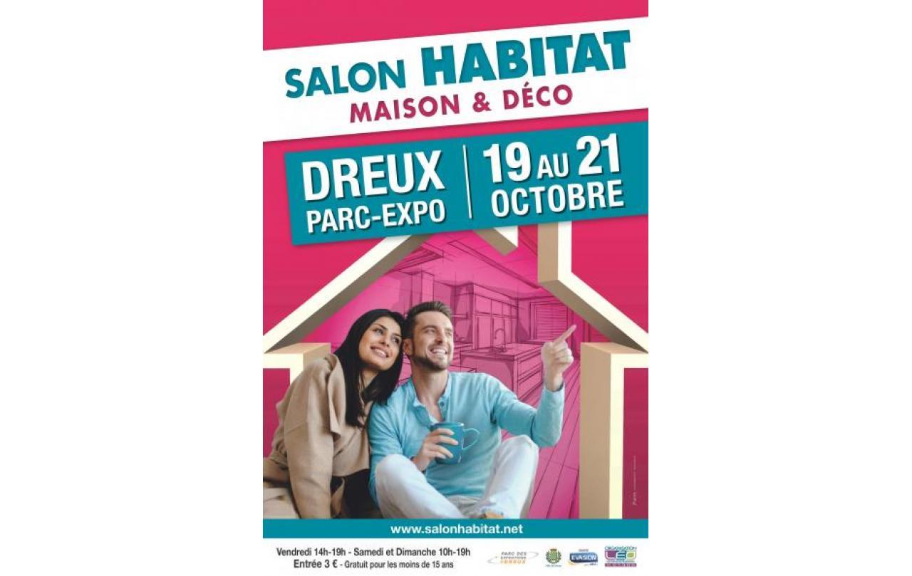 Salon De L'habitat à Dreux (28100) du 19/10/2018 au 21/10/2018