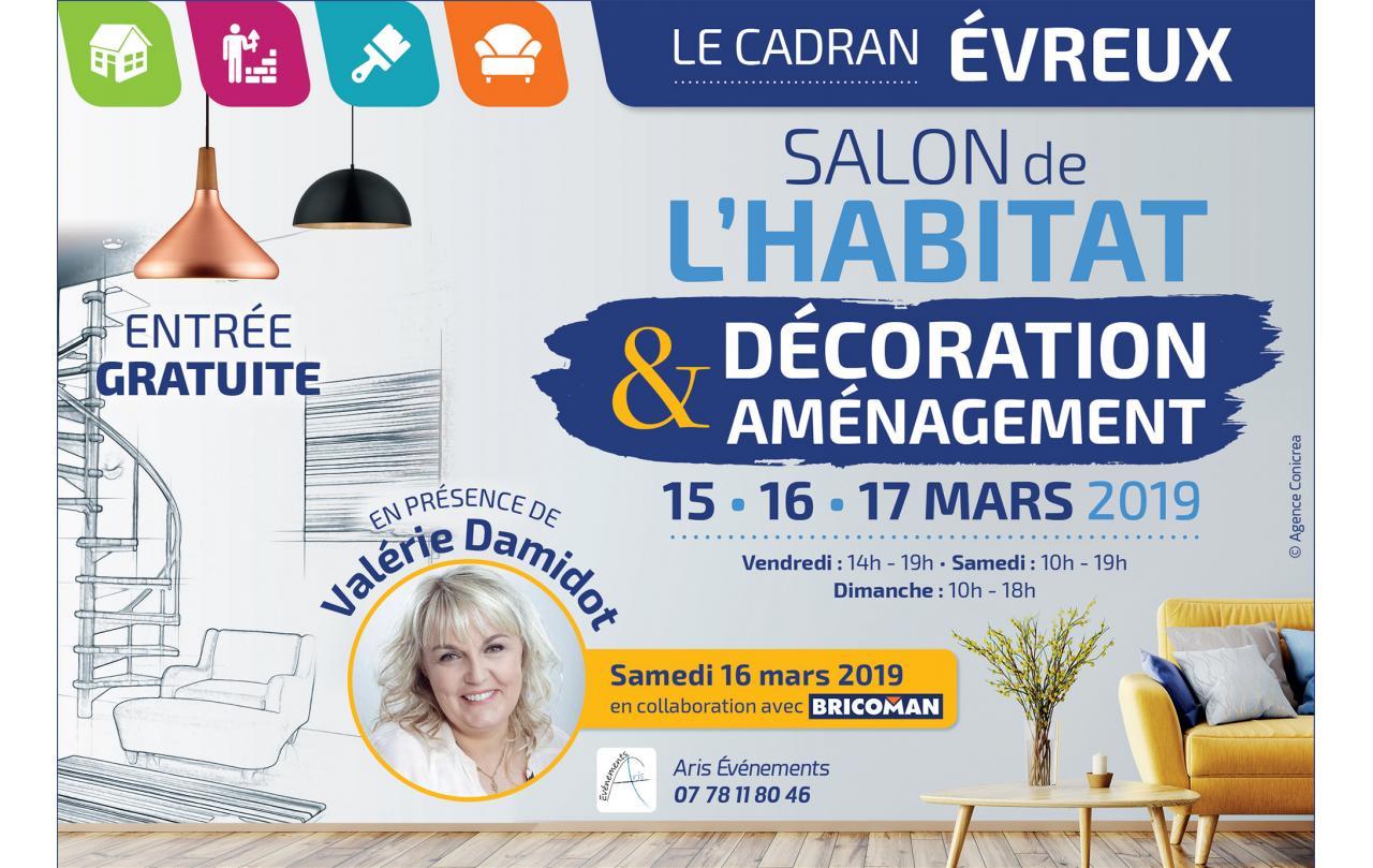 Salon De L'habitat à Evreux (27000) du 15/03/2019 au 17/03/2019