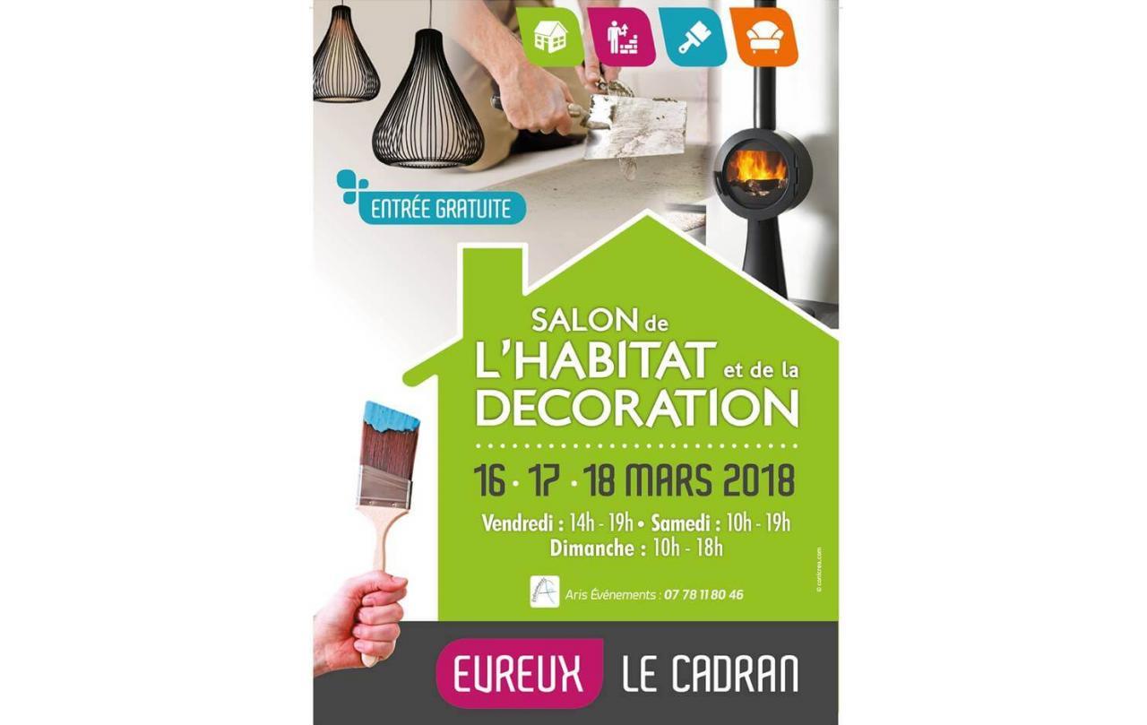 Salon De L'habitat à Evreux (27000) du 16/03/2018 au 18/03/2018