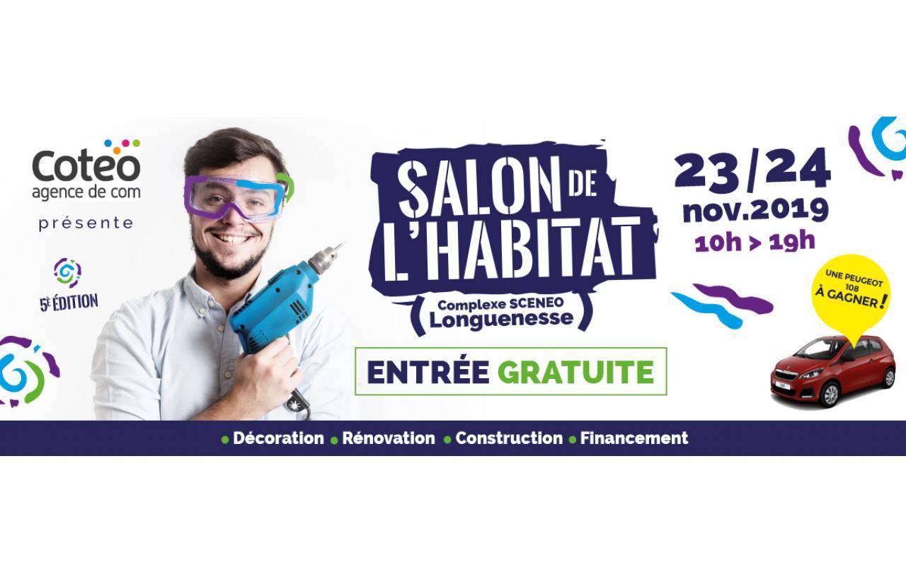 Salon De L'habitat à Longuenesse (62219) les 23/11/2019 et 24/11/2019