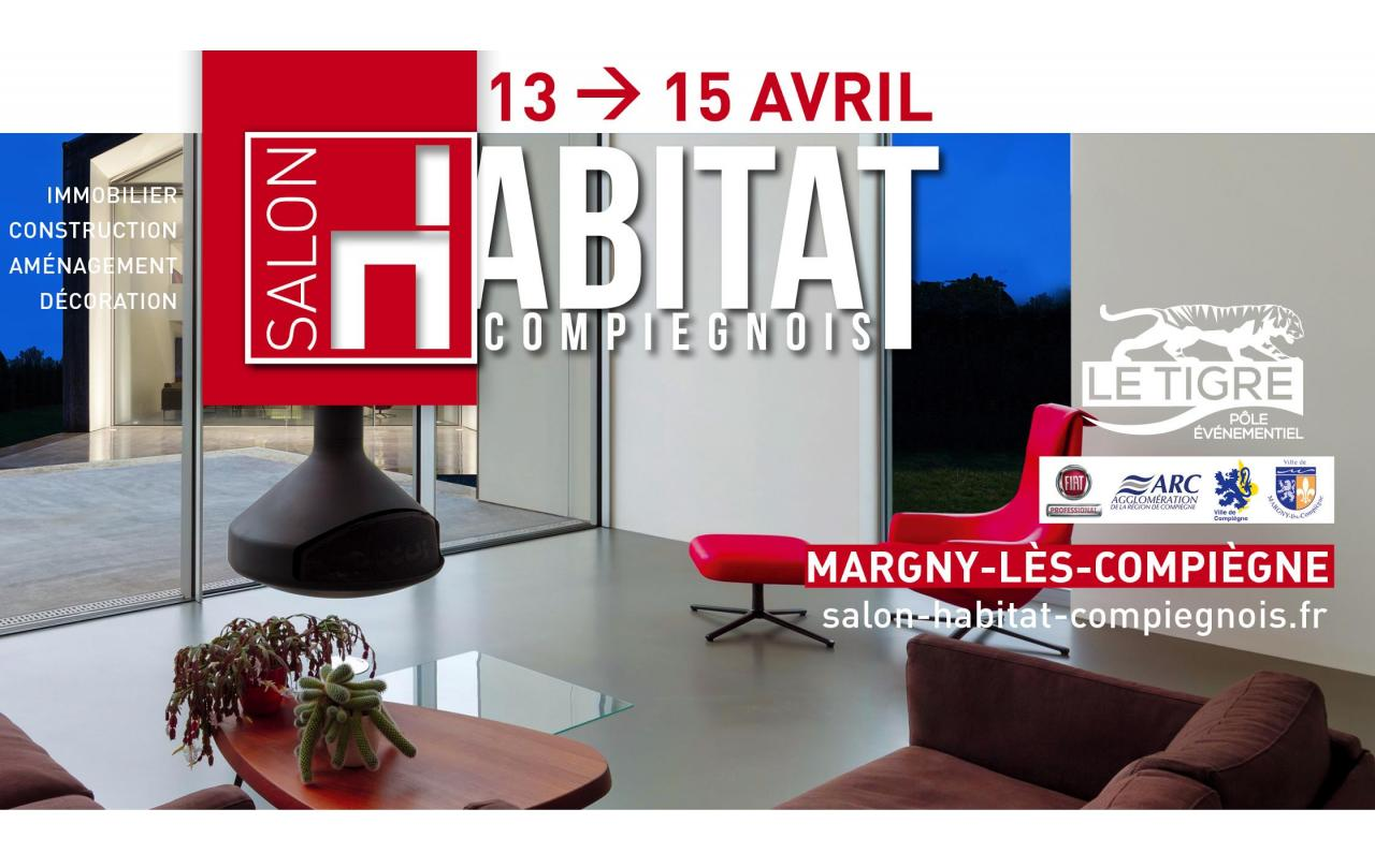 Salon De L'habitat à Margny-les-compiegne (60280) du 13/04/2018 au 15/04/2018