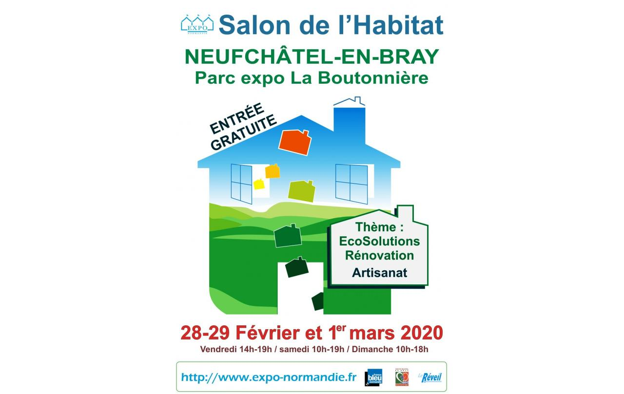 Salon De L'habitat à Neufchatel-en-bray du 28/02/2020 au 01/03/2020