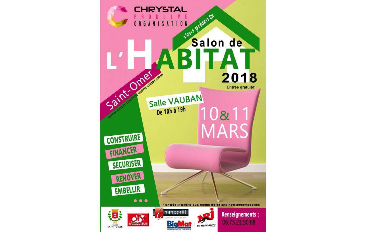 Salon De L'habitat à Saint-omer (62500) les 10/03/2018 et 11/03/2018