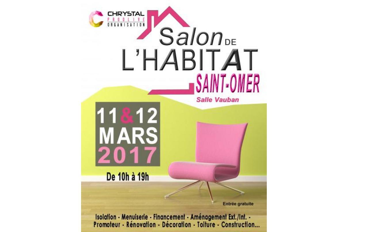 Salon De L'habitat à Saint-omer les 11/03/2017 et 12/03/2017