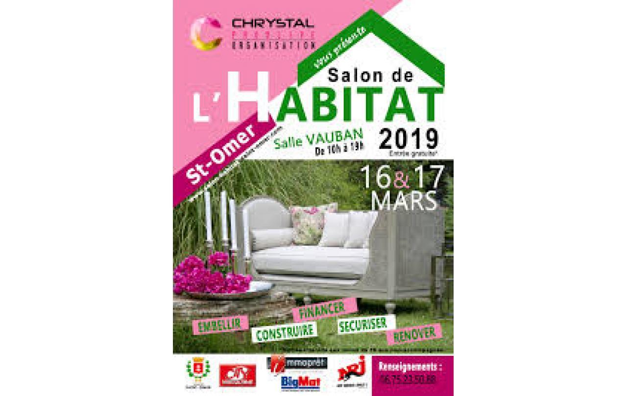 Salon De L'habitat à Saint-omer (62500) les 16/03/2019 et 17/03/2019