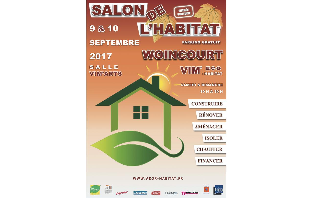 Salon De L'habitat à Woincourt (80520) les 09/09/2017 et 10/09/2017