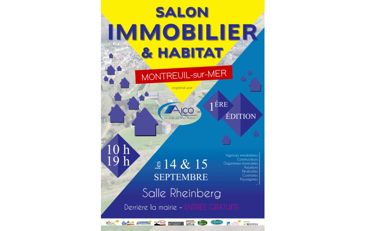 Salon De L'habitat Et De L'immobilier à Montreuil (62170) les 14/09/2019 et 15/09/2019