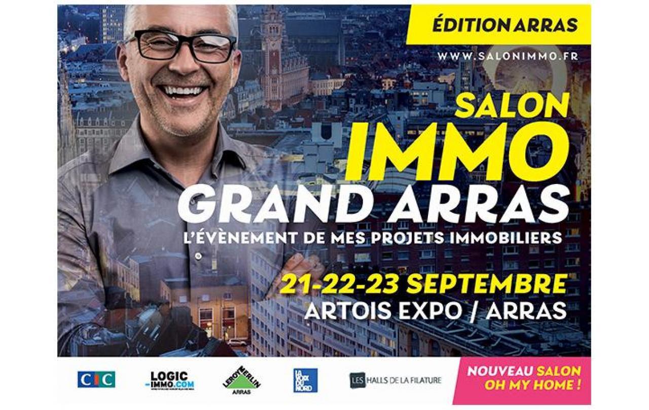 Salon De L'immobilier à Arras (62000) du 21/09/2018 au 23/09/2018