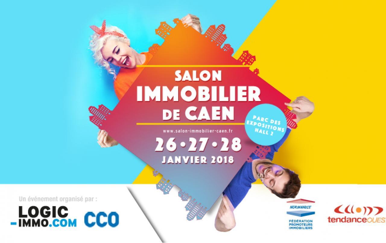 Salon De L'immobilier à Caen (14000) du 26/01/2018 au 28/01/2018